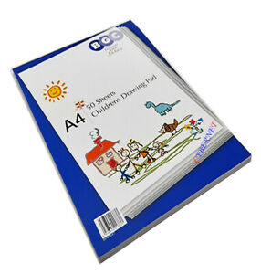 Childrens Drawing Sketch Pad 100 Pages Kids A4 Paper Arts & Crafts Book
