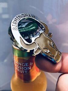 Birmingham Bull Bottle Opener - 3D Souvenir Fridge Magnet