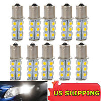 10 X Car RV Cool White 1156 BA15S 5050 18smd LED Light Bulb 7503 1141 1073 Sale