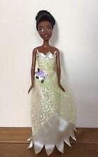 """DISNEY Principessa Tiana Bambola by Mattel 1999 CON VESTITO ORIGINALE 12"""""""