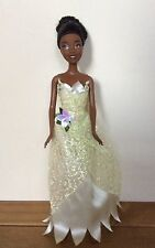 "DISNEY PRINCESS TIANA Doll by MATTEL 1999 with original dress 12"""