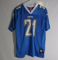 Ladainian Tomlinson San Diego Chargers NFL Football Jersey Reebok Sz YOUTH Large