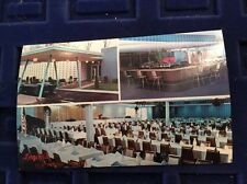 New York NY Rochester Logan's Postcard VTG Card Catering Hall Private Parties A+