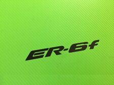 ER6-F logo decal Sticker for ER6F Race, Track Bike or Toolbox ref #195