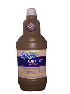 Swiffer WetJet Quickdry Formula Liquid Hardwood Wood Floor Cleaner Refill 1.25L