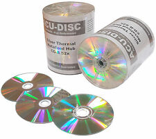 100 x ACU-DISC CDR80 Thermal Silver Silver MH 700mb