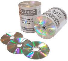 100 X acu-disc cdr80 Térmica Plata Plata Mh 700 Mb