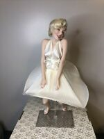 "Franklin Mint Heirloom 17"" Porcelain Doll, Marilyn Monroe Seven Year Itch W/ Box"