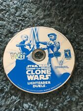 Star Wars The Clone Wars Lightsaber Duels Nintendo Wii disc Only