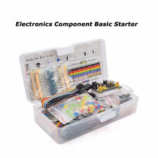 Electronics Component Basic Starter Kit w/830 tie-points Breadboard Power Supply