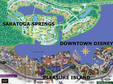 Walt Disney World's Deluxe Saratoga Springs Resort Studio 6 Days and 5 Nights