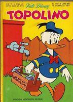 TOPOLINO LIBRETTO- PUNTI-N°1107 INSERTO CLUB TOPOLINO