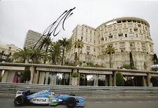 Alex Wurz Hand Signed Mild Seven Benetton Photo 12x8 1.