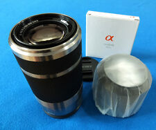 Sony OSS 55-210mm f/4.5-6.3  Lens  with Hood  - Fast WorldWide shipping ! -