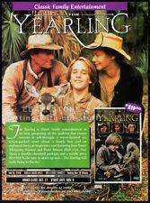 THE YEARLING__Original 1994 Trade print AD movie promo__PETER STRAUSS_JEAN SMART