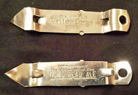 1940s VALLEY FORGE THE ARISTROCRAT OF ALES RAMS HEAD ALE BEER CAN BOTTLE OPENER