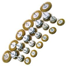 Steel Wire Wheel / Rotary Cup Brush Set Rust Removal TE277