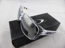 Oakley HOLBROOK Sunglasses Polished Clear - Chrome Iridium Lens