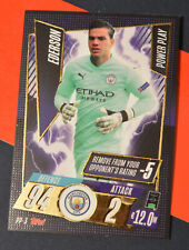 Topps Match Attax 20/21 UCL POWER PLAY card PP-3 Ederson 2020/21