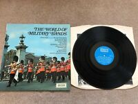 THE WORLD OF MILITARY BANDS VINYL LP DECCA 1969 SPA-18