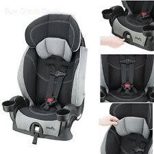 Evenflo Chase Lx Booster Seat, Harnessed Adjustable Baby Car Seat, Jameson - New