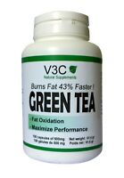 GREEN TEA - BRÛLEUR DE GRAISSES - V3C NUTRITION USA 100 GELULES