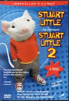 Stuart Little & Stuart Little 2 DVD - Region 2 - Nordic - 2 Disc - New & Sealed