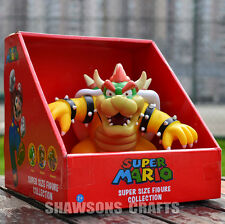 "SUPER MARIO BROTHERS TOYS LARGE SIZE 9"" KOOPA BOWSER ACTION FIGURE"