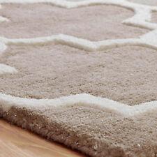 Oriental Weavers Arabesque Rug Runner Hand Tufted Modern Wool and Viscose Beige 60 X 235 Cm Runner