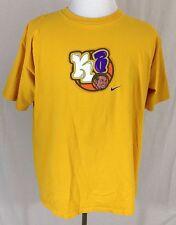 Vintage Kobe Bryant Los Angeles Lakers Cartoon Nike Shirt Men's XL