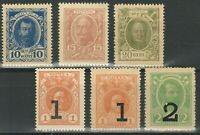 Russland 1915/17 ☀ Romanow das Papiergeld ☀ Postfrisch (**) MNH