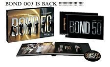 Bond 50 - Collection (2012) Five Decades of James Bond 007 New DVD 23-Disc Set