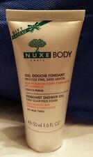 NUXE BODY Paris Fondant Shower Gel Fine Soap-Free Foam 1.6 FL OZ/50 ml NEW!
