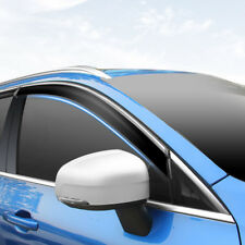 For VOLVO XC60 2018 Plastic Window Visor Shade Rain Sun Guard Deflector Trim *4