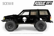 Axial SCX10 II Cherokee Body Graphic Wrap Skin- Punisher