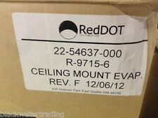 New In Box Red Dot R-9715-6 Ceiling Mount Evaporator