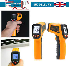 Digital Infrared Temperature Thermometer Gun Non-Contact IR Laser Point UK