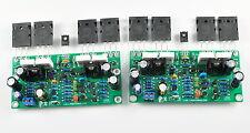 LJM DIY Kit for L20SE Amplifier Parts w/ Dual AC Power 350W+350W 2SA1943 2SC5200