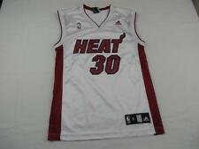 Great Adidas Mens Sweet Miami Heat #30 NBA Basketball Jersey Sz S