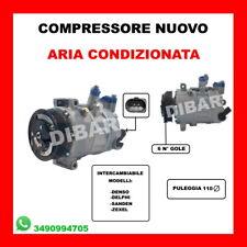 COMPRESSORE ARIA CONDIZIONATA NUOVO SKODA YETI 2.0 TDI '09 KW81 CV110 DFSA 384