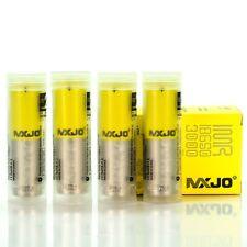 4 MXJO 3000MAH 35A IMR 18650 3.7V Battery Authentic Original Flat Top Batteries