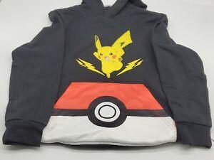 Boys' Pokemon Pickachu Pullover Sweatshirt Multi Sizes - Black Free Shipping