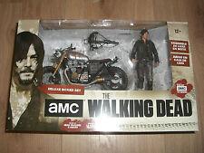 The Walking Dead Actionfigur Daryl Dixon mit Custom Bike Staffel 5/6 13 cm NEU