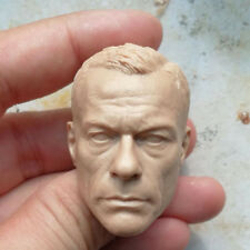 Blank 1/6 Scale Jean-Claude Van Damme Head Sculpt Unpainted EnterBay
