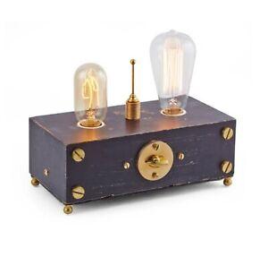 Electro Double Edison Bulb Table Lamp Retro Style