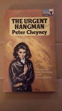 "Peter Cheyney, ""Urgent Hangman,"" 1964, Pan G667, VG, UK, 1st"