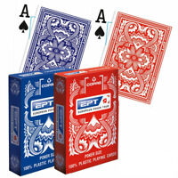 Copag EPT playing cards European Poker Tour Jumbo index 100% Plastic 1 Deck NEW