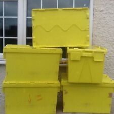 Heavy Duty Plastic Shipping & Moving Boxes