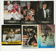 Mario Lemieux lot of 6 Insert Hockey cards.