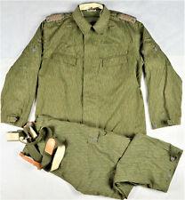 DDR NVA Uniform Felddienst ESKS OSL Anzug Tarnuniform k52  1973 SELTEN!!!! 3326